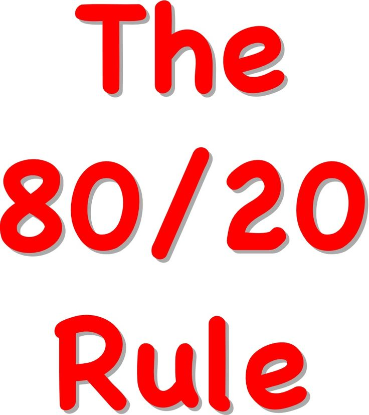 Why the 80/20 Rule Might Be the Key to Successful Dating