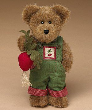 Radcliff McVeggie [BOYD-904243] - $19.95 : Boyds Bears From Custom Creations and Gifts, Gifts For Any Occasion