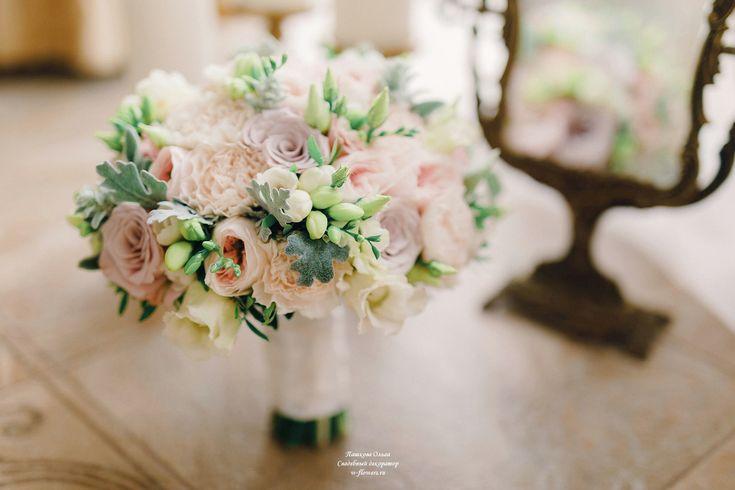 Пудровый букет невесты #букетневесты #свадебныйбукет #букет #bouquet #bride