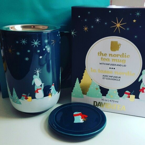 DavidsTea Nordic mugs have such fun designs and are well made highly recommend them.