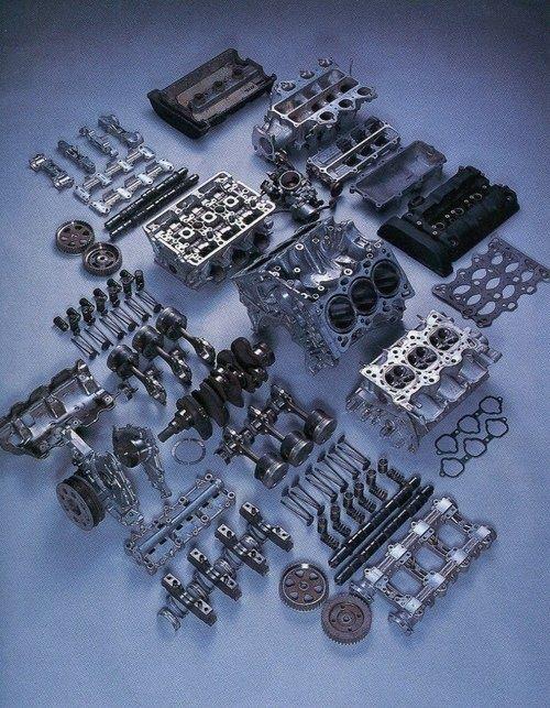 (Honda NSX V6 Engine)