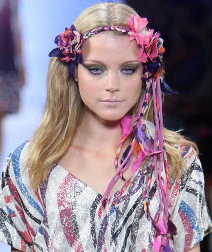 необычные украшения для волос ободки хенд-мейд