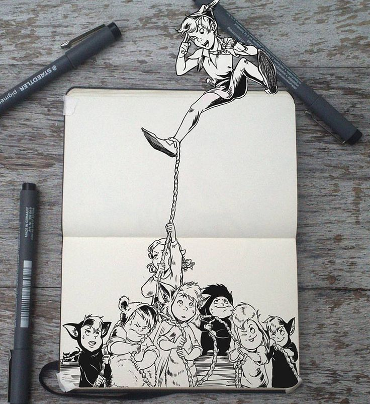 These Beautiful Disney Pen Drawings Will Take You Back To Your Childhood | moviepilot.com