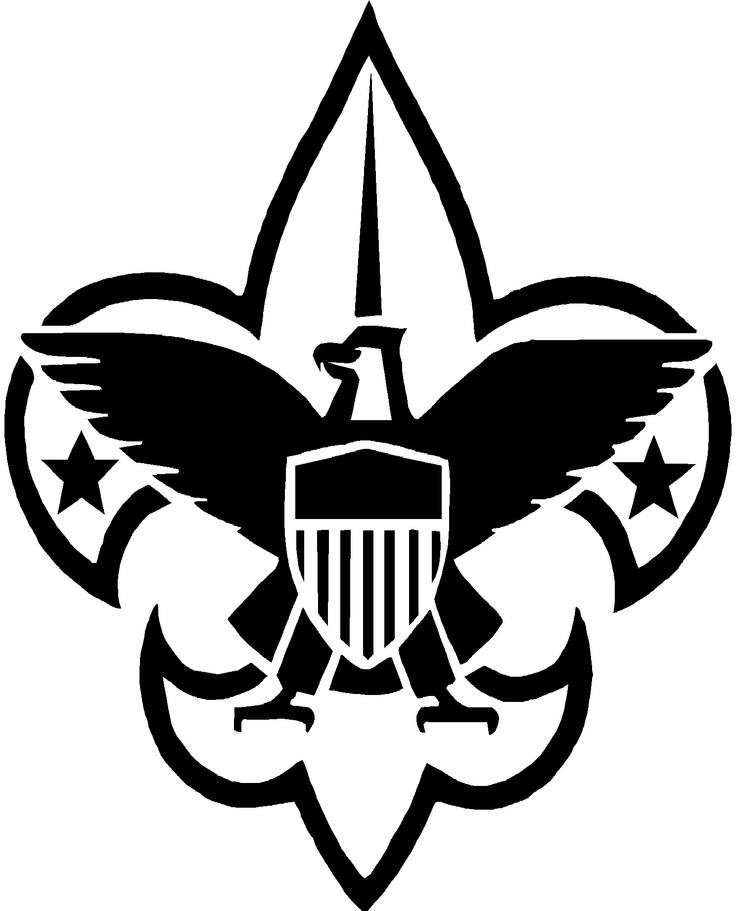 29 best boy scout and cub scout svg images on pinterest boy rh pinterest com Boy Scout Logo Stencil Boy Scout Logo Stencil