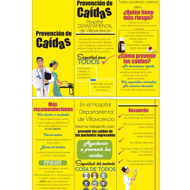 Mi amante favorito son los textos. #brochure hospital departamental de Villavicencio. #design #SoyRedactora