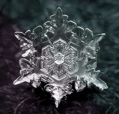 Fractal 6 point symmetry - Snowflake