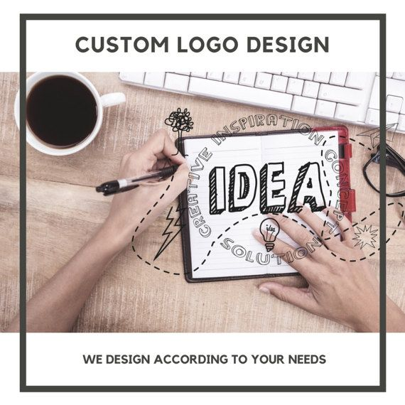 CUSTOM LOGO DESIGN    Create your own product, that represents your brand.