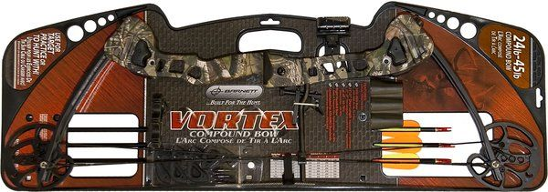Barnett Crossbows BAR-1105 Barnett Vortex Youth Archery Bow, Camo