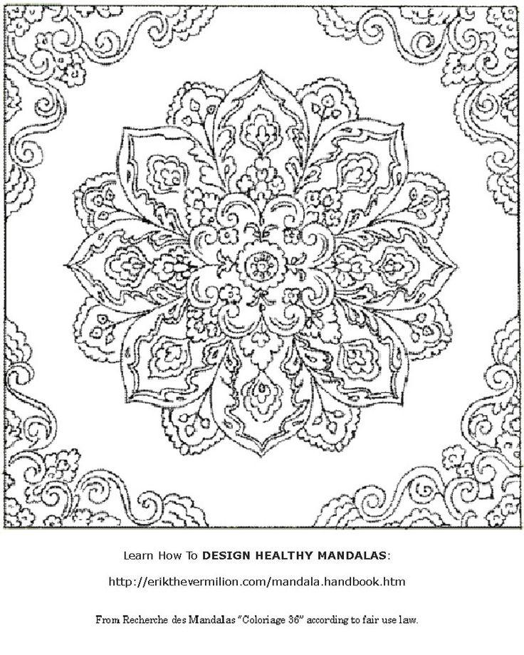 Free Printable Mandala Coloring Pages | Free Mandala Coloring Book Printable Pages
