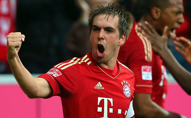 Philip Lahm, proves that big things do come in small packages. 19 assists in all competitions last season.