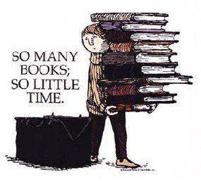 Muchos libros para tan poco tiempo