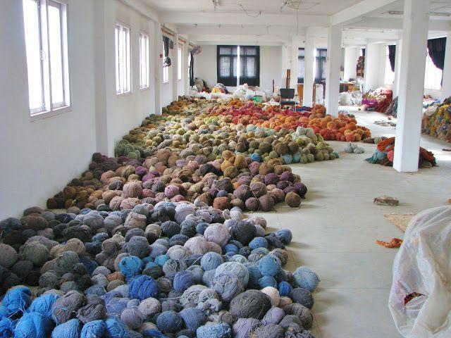 Yarn Storage, Nepal - Photo: courtesy of Layne Goldsmith