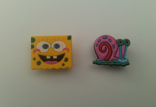 Spongebob Croc Charms