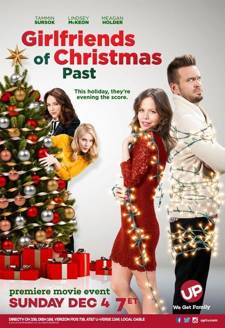 Its a Wonderful Movie - Your Guide to Family Movies on TV: 'Girlfriends of Christmas Past' - an UP Original Christmas Movie