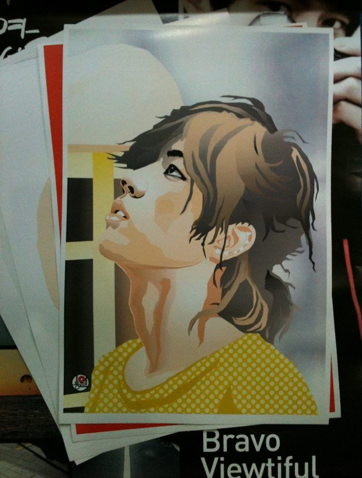 "Poster digital ART ""SungYeol"""