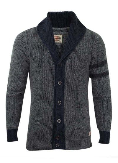 Replay Mens Shawl Collar Cardigan...I would totally wear this out of your closet.....