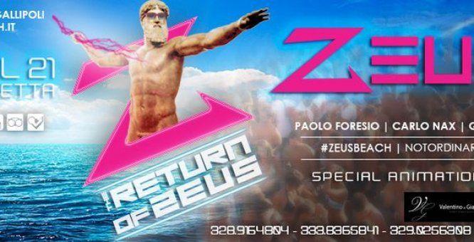 Pasquetta Zeus Beach - Opening party 2014 - Location: Zeus Beach  Litoranea Gallipoli-Leuca, Baia Verde