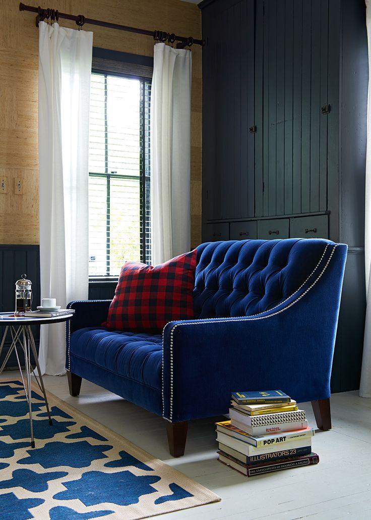 pertaining plan velvet mcgrory crystal blue info loveseat legs tufted throughout settee to silver decor