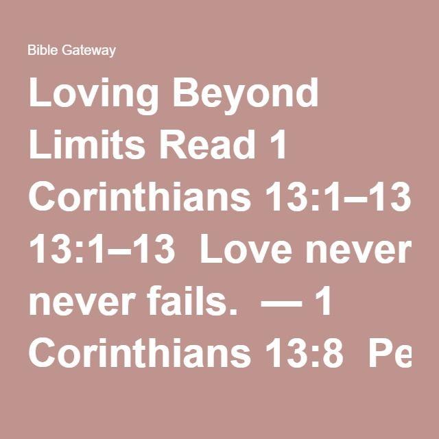 Quotes About Failed Love: 25+ Best Ideas About Corinthians Love On Pinterest
