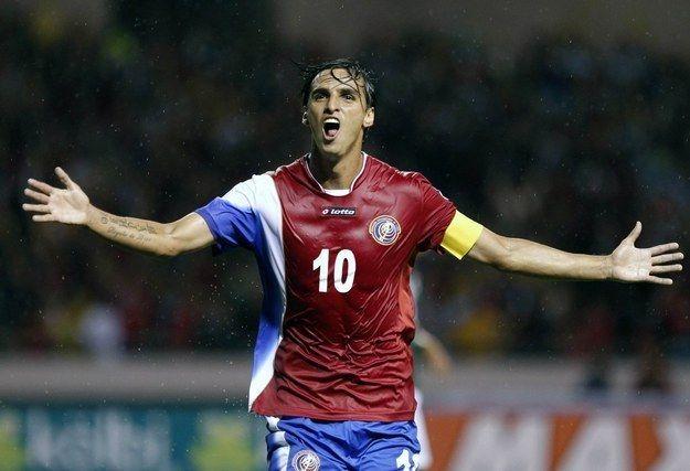 Bryan Ruiz, the star of the team, is an amazing midfielder.