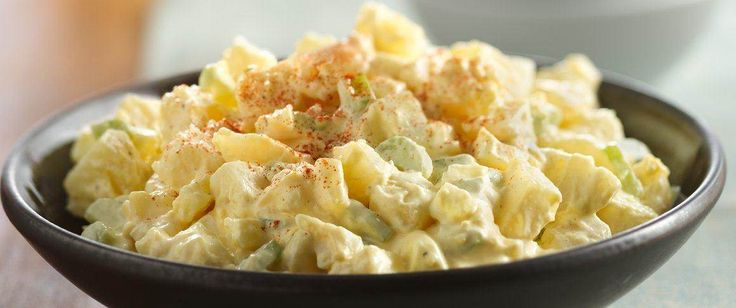 A potluck and picnic favorite, potato salad always satisfies.