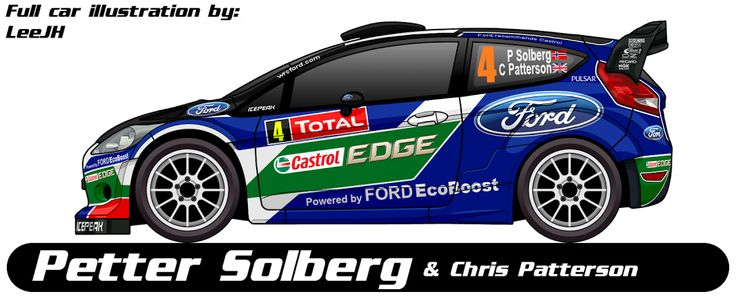WRC | FORD | #4 | Petter Solberg - Chris Patterson ( All )