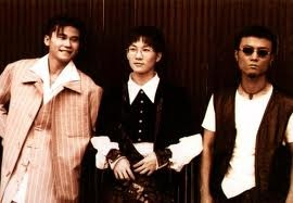 Boy band fashion in the 90s. Seo Taiji & Boys. Check out Yang Hyun-suk in the pink striped suit!