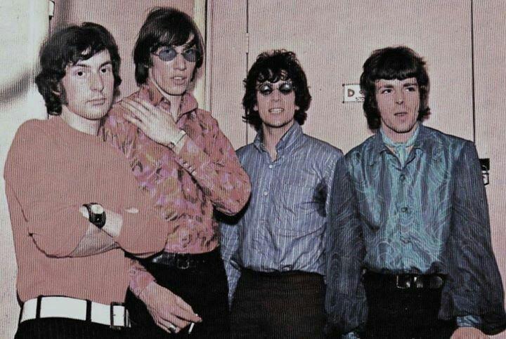 '67 photo of Pink Floyd