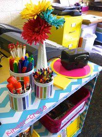 Kinder-Craze: A Kindergarten Blog: DIY Chevron Bookshelf