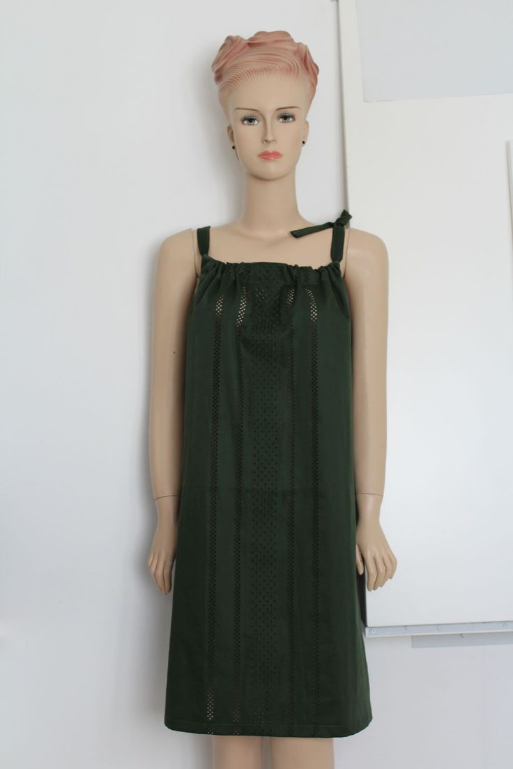 FREE sewing pattern for this easy summer dress on Greenie Dresses for Less.
