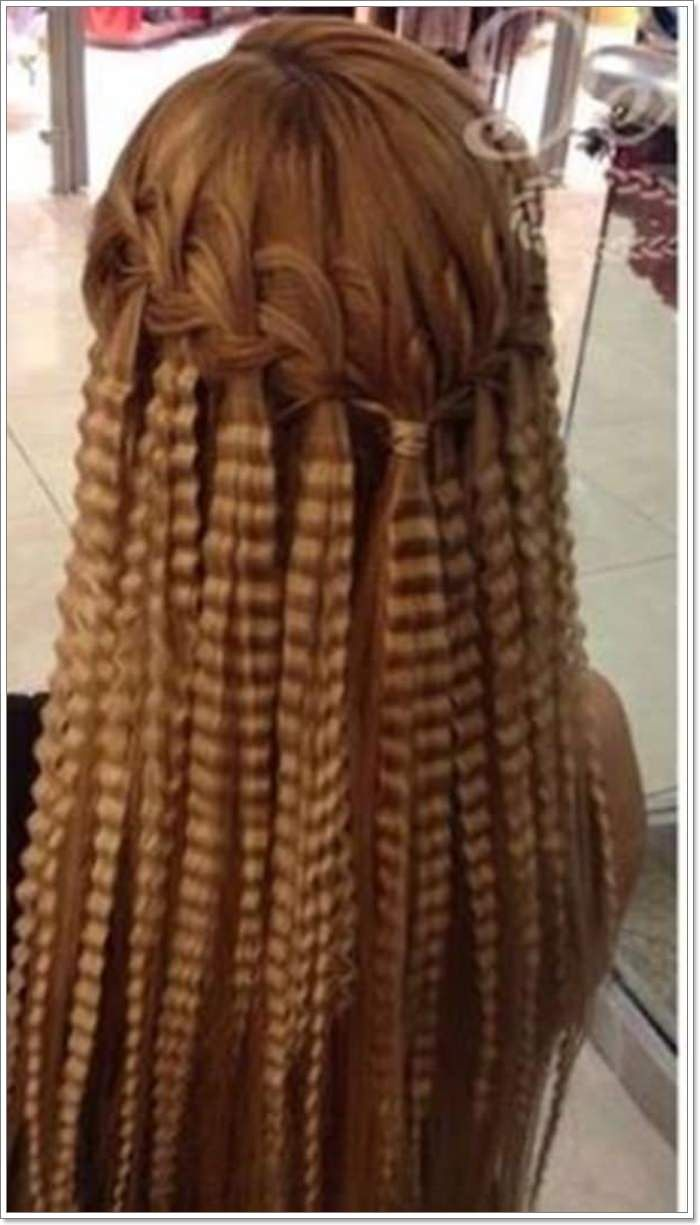 21 Fine Crimping Hairstyles Ceplukan Crimped Hair Hair Styles Hair Techniques