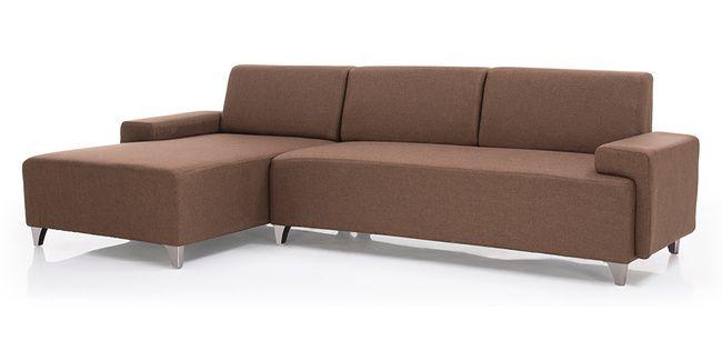 Grant Sectional Sofa (Sable Brown)