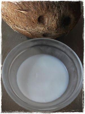 El árbol de burbujas: Aceite de coco casero: Tutorial