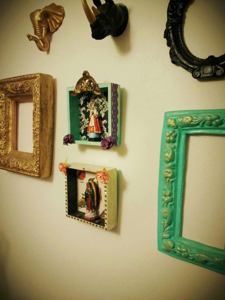 Altares decorativos #virgenes