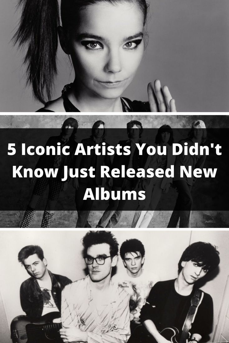 Do you miss bands from the 60s-90s? Well they may not be as lost in time as you think. Check out these iconic artists who are still releasing new albums!