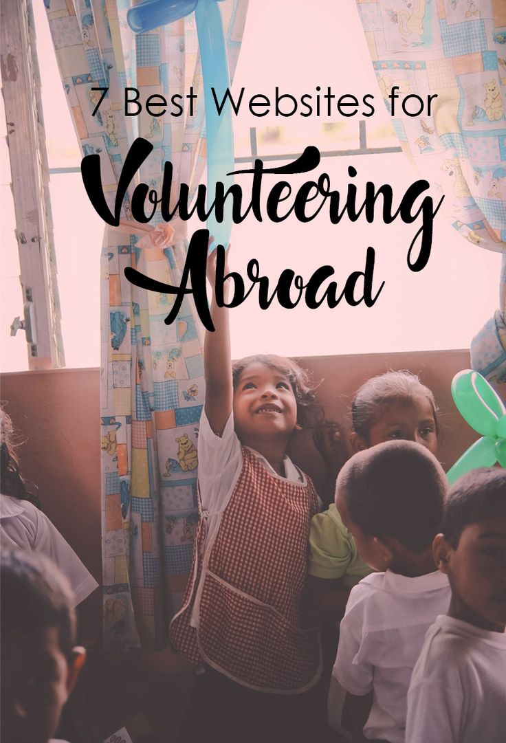 7 Best Websites For Volunteering Abroad - Travel -  Volunteer Abroad.