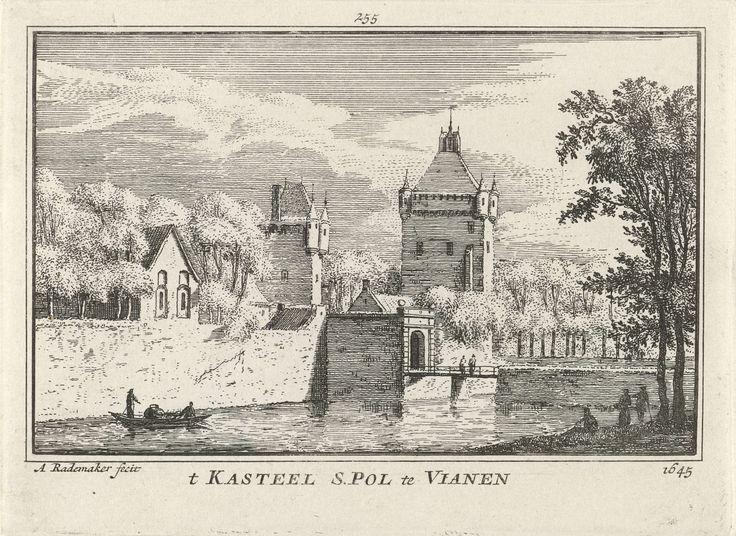 Slot Batestein, Abraham Rademaker, Willem Barents, Antoni Schoonenburg, 1727 - 1733