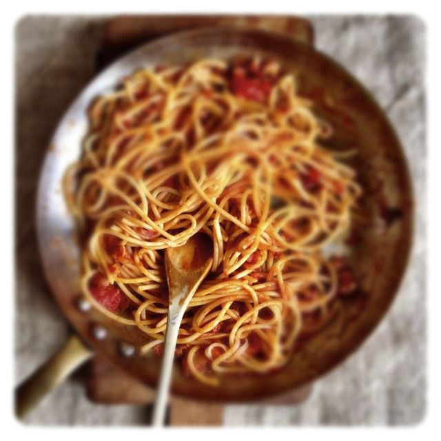 A gutsy pasta dish from Rome.