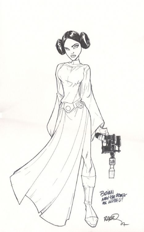 Princess Leia by Humberto Ramos                                                                                                                                                     More