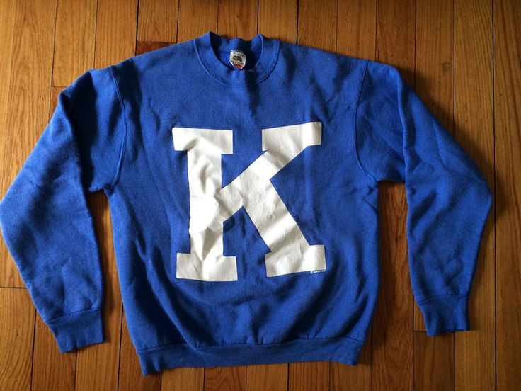 Vintage University Of Kentucky Wildcats Sweatshirt XL #BBN Basketball Cats