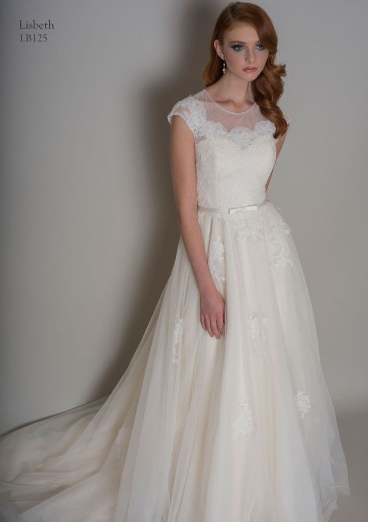 Lou Lou- Lisbeth. A timeless gown inspired by the 1950's era. Available at The Tailor's Cat, Cambridge 01223 366700