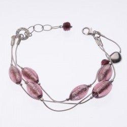 Antica Murrina Pandora #Bracelet - Amethyst #jewellery #murano
