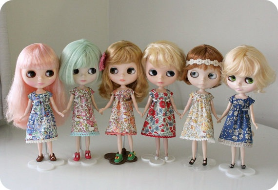 Floral Dress for Blythe