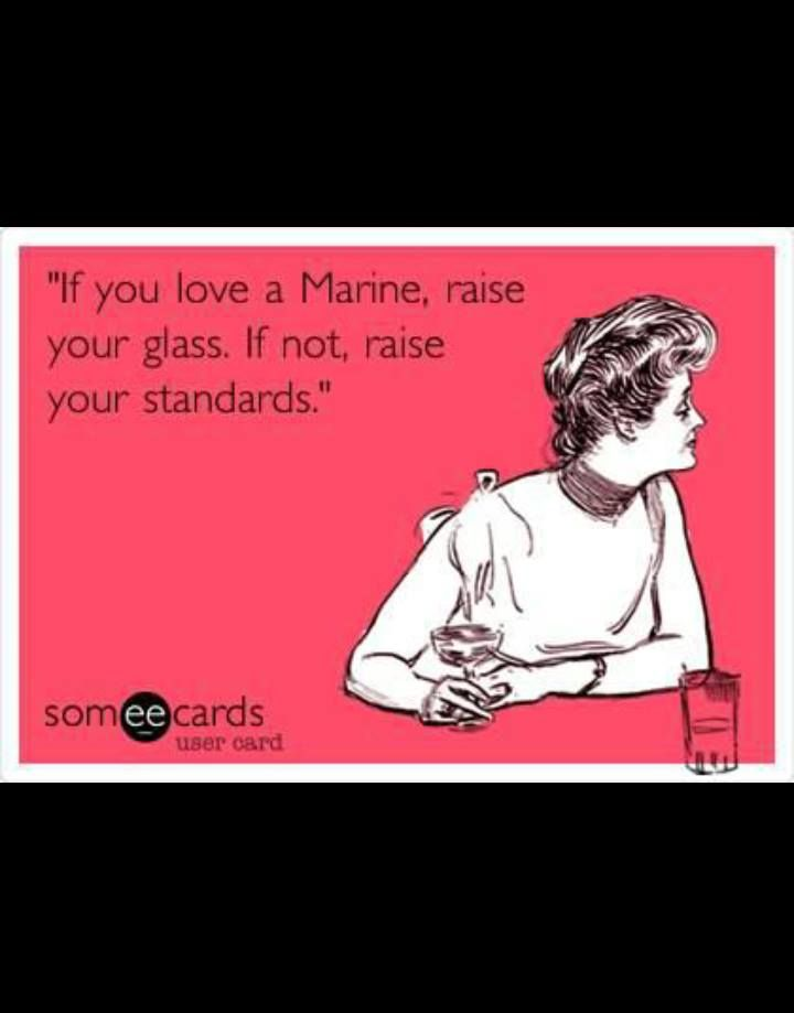 Dating a marine meme