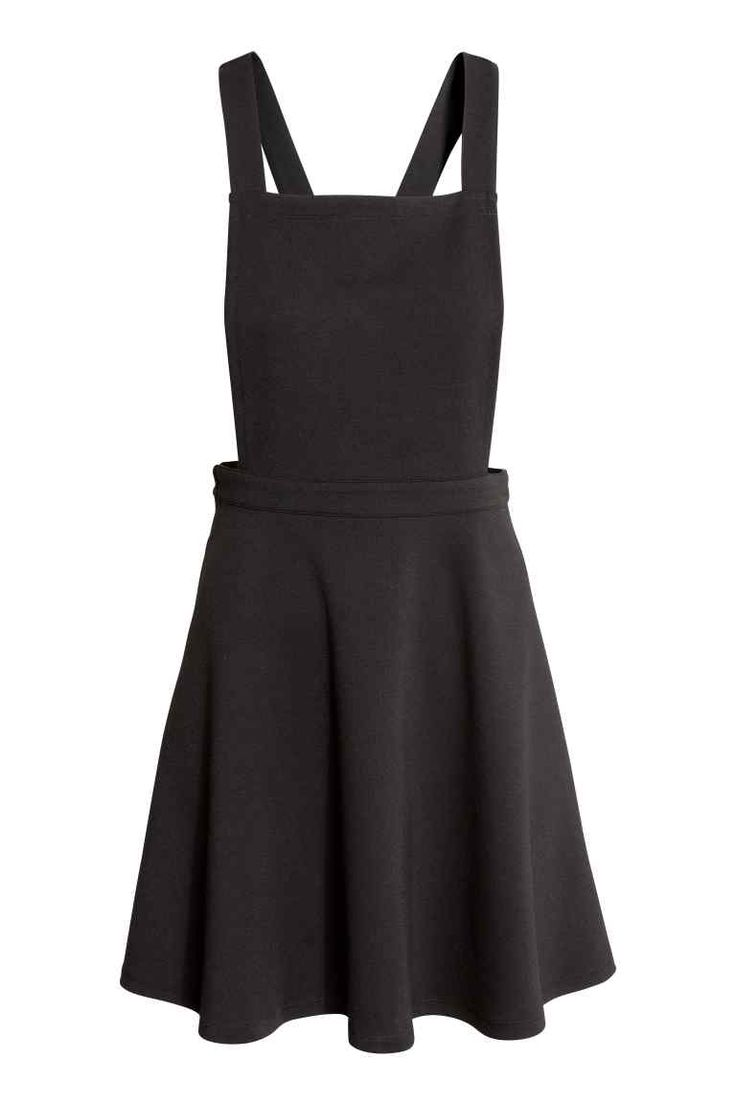 Jersey dungaree dress | H&M