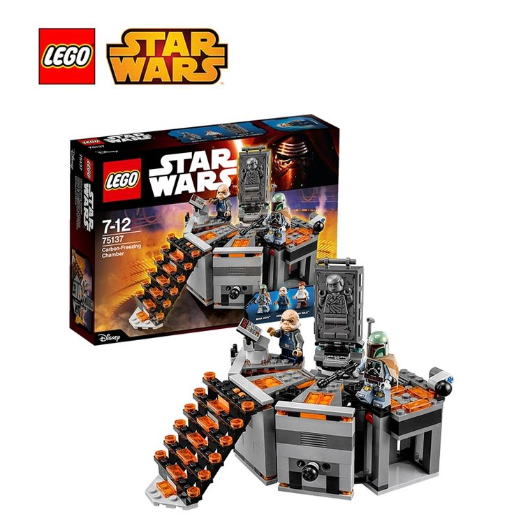 59.16$  Watch here - http://ali9mp.shopchina.info/go.php?t=32800402347 - LEGO Star Wars Carbon-Freezing Chamber Architecture Building Blocks Model Kit Plate Lego Starwars Toys For Children LEGC75137 59.16$ #buyonline