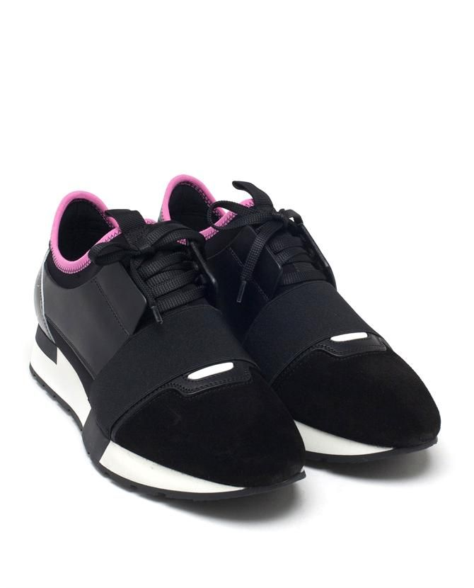3f0718a65fe2 BALENCIAGA Race Runner Low-Top Trainers