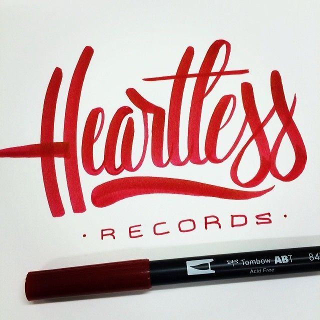 Heartless Records by Tim Bontan