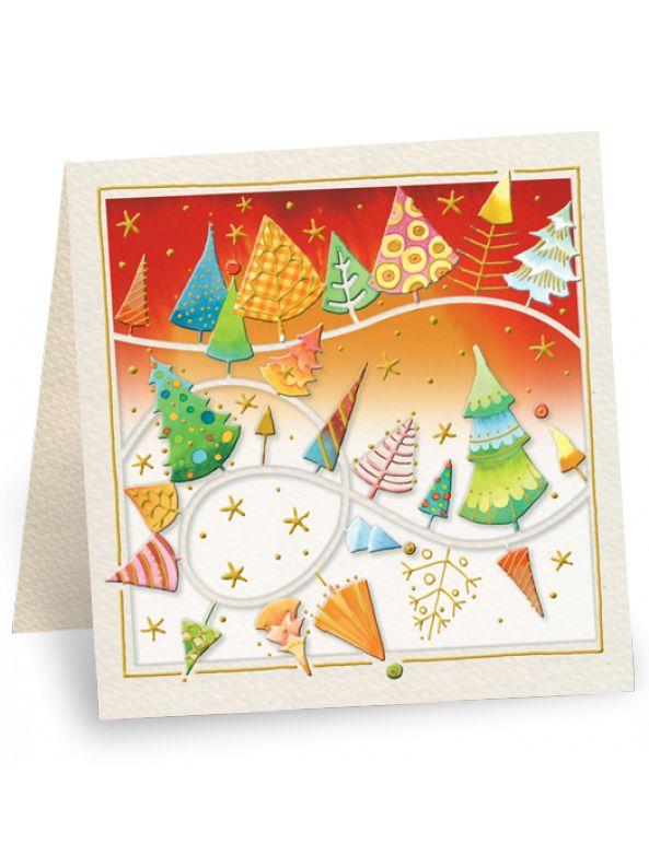 Raffinato bigliettino di auguri di Natale, colorato e allegro, è perfetto per fare auguri di Natale formali a clienti, colleghi o insegnanti, da allegare alle ceste natalizie o agli omaggi a clienti, colleghi o insegnanti. Mini biglietto natali