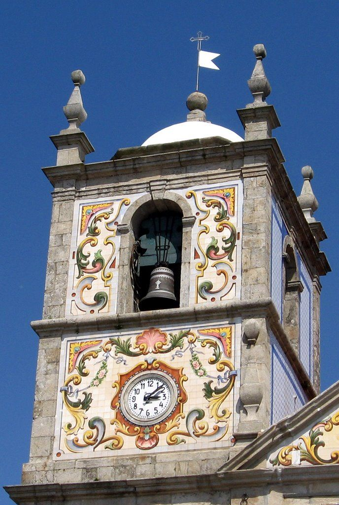 "Válega, Portugal:  A ""Cappella Sistina"" portuguesa - Torre Sineira   - photo by R.F.Rumbao, via Panoramio"
